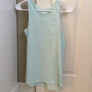 Cute teal tank top!